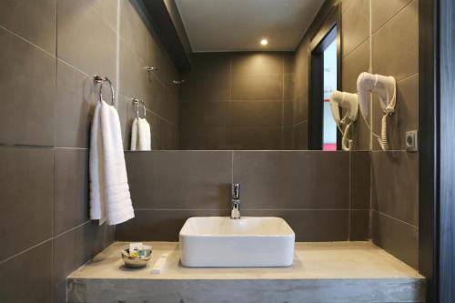A bathroom at Design Architectonika