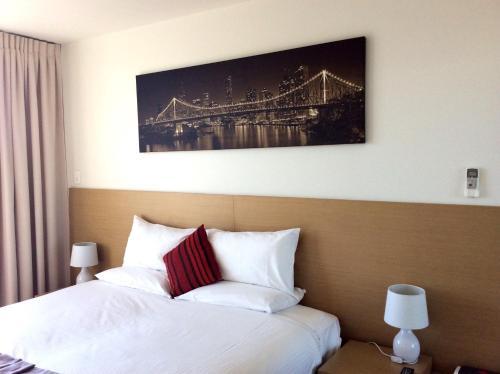 Кровать или кровати в номере PA Apartments
