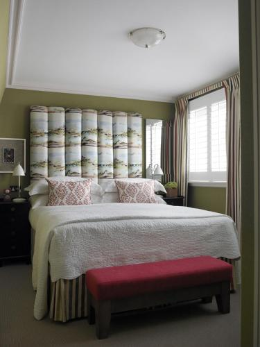 A bed or beds in a room at Dorset Square Hotel, Firmdale Hotels