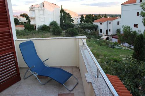 Balkón nebo terasa v ubytování Apartments Marszalek