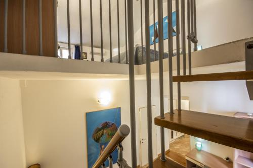 Letto o letti a castello in una camera di GH Paradiso - Apartments