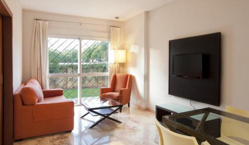 Area soggiorno di Apartamentos Vértice Bib Rambla