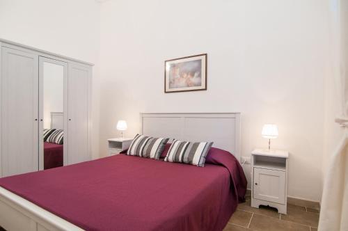 Letto o letti in una camera di Casa vacanze Cristina