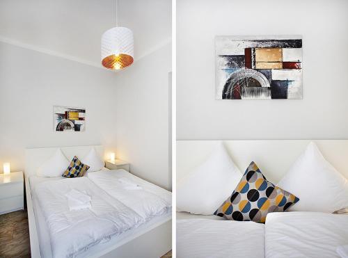Ein Bett oder Betten in einem Zimmer der Unterkunft Celebration Flat by Ruterra