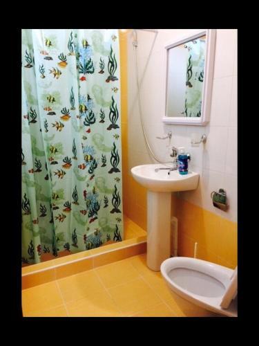 Ванная комната в Райский уголок