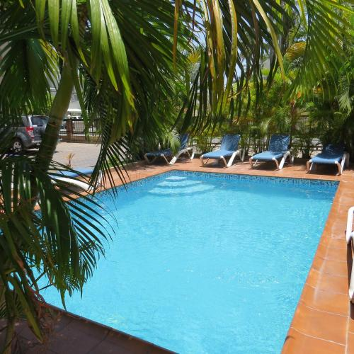 The swimming pool at or near Hostel Punta Cana