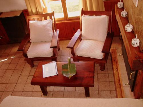 Un lugar para sentarse en Apart Manantial del Valle
