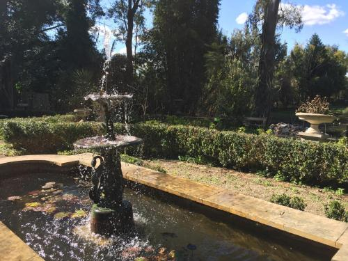 A garden outside The Regents Park