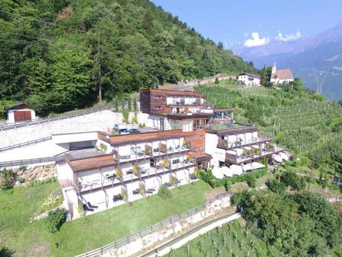 Letecký snímek ubytování Residence Aqualis