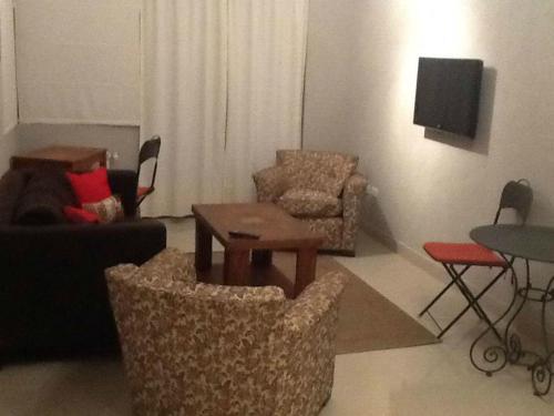 Un lugar para sentarse en Departamentos en Edificio Huarpes Gesell