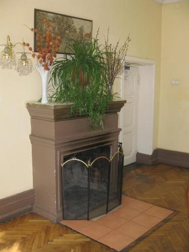 The lobby or reception area at Lesogorskaya estate RUUSYAVI