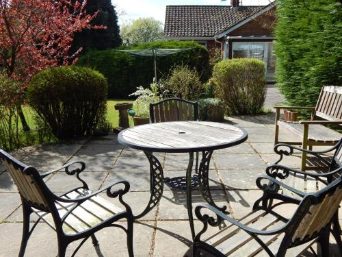 A porch or other outdoor area at Lynden Lea
