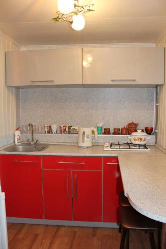 A kitchen or kitchenette at Guest House at Spass