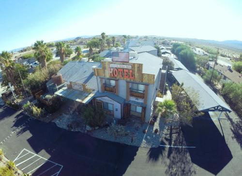 A bird's-eye view of Sunnyvale Garden Suites - Joshua Tree National Park