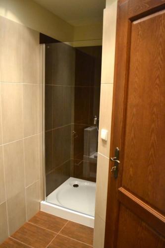 Koupelna v ubytování Pension Stará škola Vysoké Žibřidovice