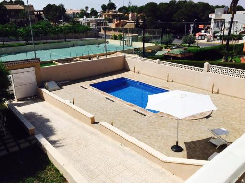 A view of the pool at Casa Rustica or nearby