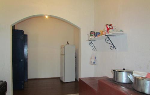 A cozinha ou cozinha compacta de Fazenda São Miguel