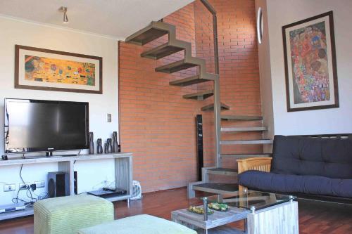 Zona de estar de Amistar Apartments