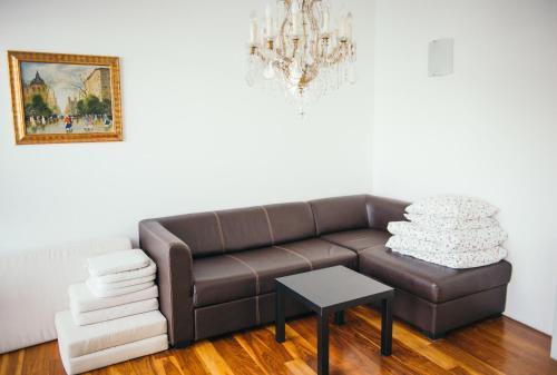 Lounge oder Bar in der Unterkunft Living Vienna City Center