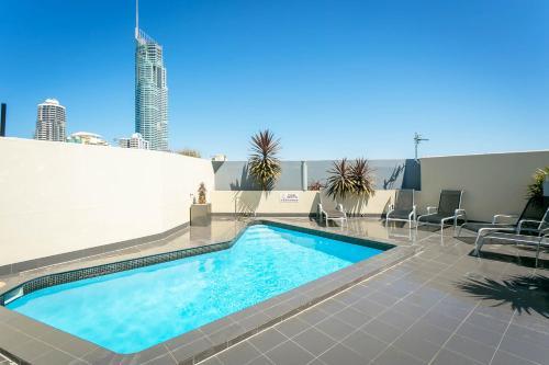 The swimming pool at or near BreakFree Cosmopolitan
