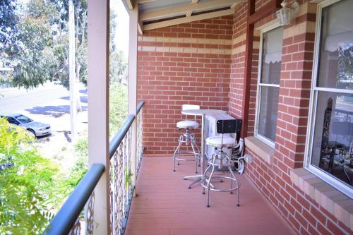 A balcony or terrace at Turner Terrace