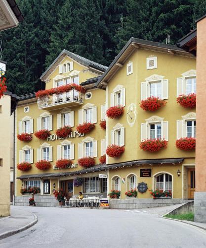 L'établissement Hotel Alpsu en hiver