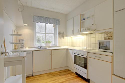 Køkken eller tekøkken på Klitgården Apartment