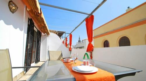 A balcony or terrace at Holi-Rent Carretería
