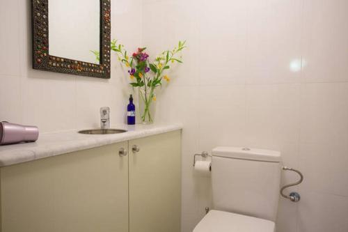 Een badkamer bij Casita Sumita