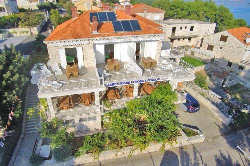 Widok z lotu ptaka na obiekt Guest House Lovrić