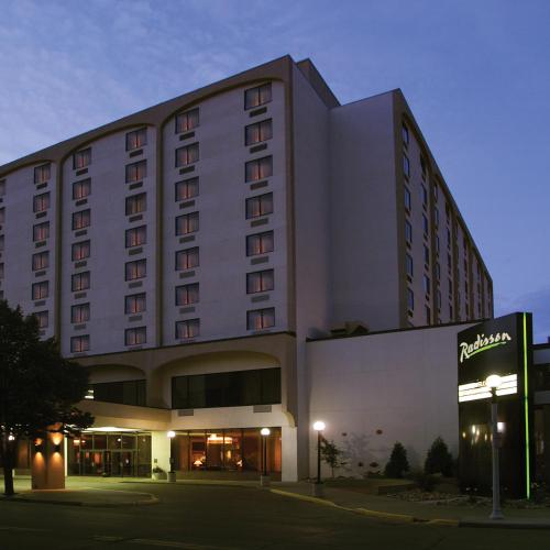 Radisson Hotel Bismarck.