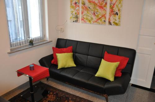 A seating area at Appartment Graz Zentrum