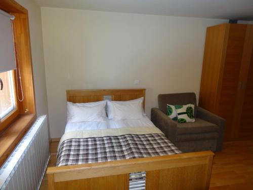 Postelja oz. postelje v sobi nastanitve Apartment 116