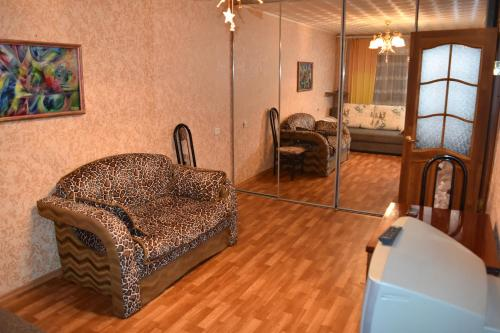Гостиная зона в Apartment On Timme