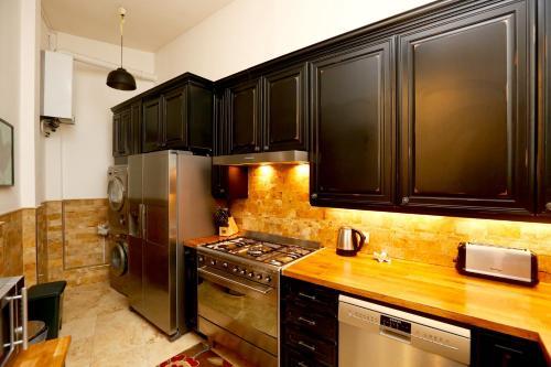 Kuhinja oz. manjša kuhinja v nastanitvi Unique Duplex 160m2
