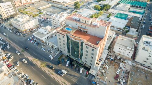 A bird's-eye view of Western Beauty Hotel Suites