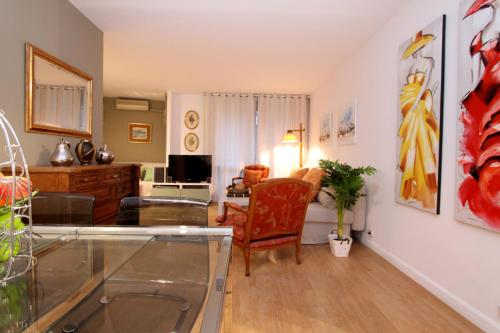 Virtuvė arba virtuvėlė apgyvendinimo įstaigoje Apartamento Tosca Deco