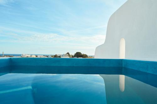 The swimming pool at or near Orabel Suites Santorini (Adults Only)