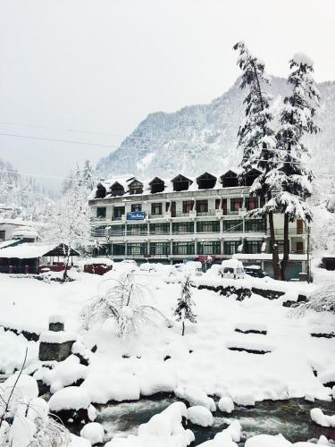 Hotel Satkar Residency during the winter