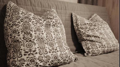Postel nebo postele na pokoji v ubytování Apartment ILWA