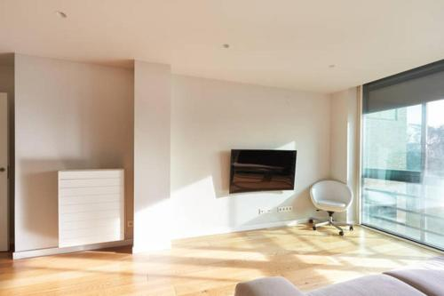 A television and/or entertainment center at Apartamento Singular Deluxe