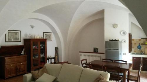 A seating area at Residenza Le Volte Degli Angeli