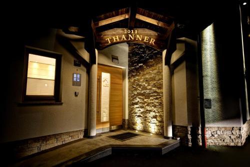 Eine Fassade oder ein Eingang zu Alpenresort Thanner
