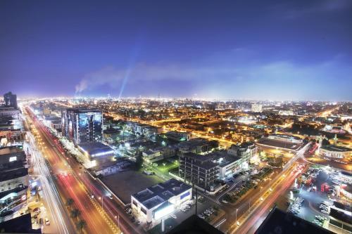 A bird's-eye view of Ascott Tahlia Jeddah