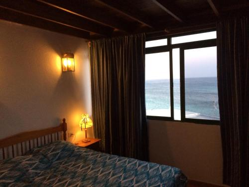 Cama o camas de una habitación en Casa Chanin