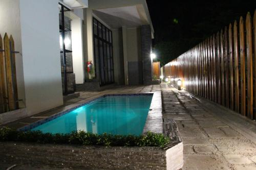 The swimming pool at or near The Terrace Apartments Zambia