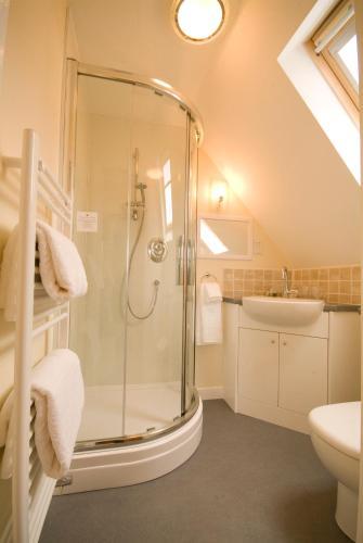 A bathroom at Bow House