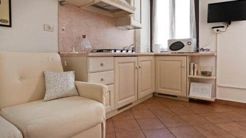 A kitchen or kitchenette at Italianway-Marghera