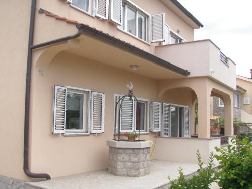 A porch or other outdoor area at Apartment Veglia