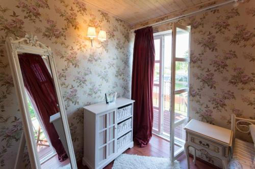 Postel nebo postele na pokoji v ubytování Suur-Sadama Apartment